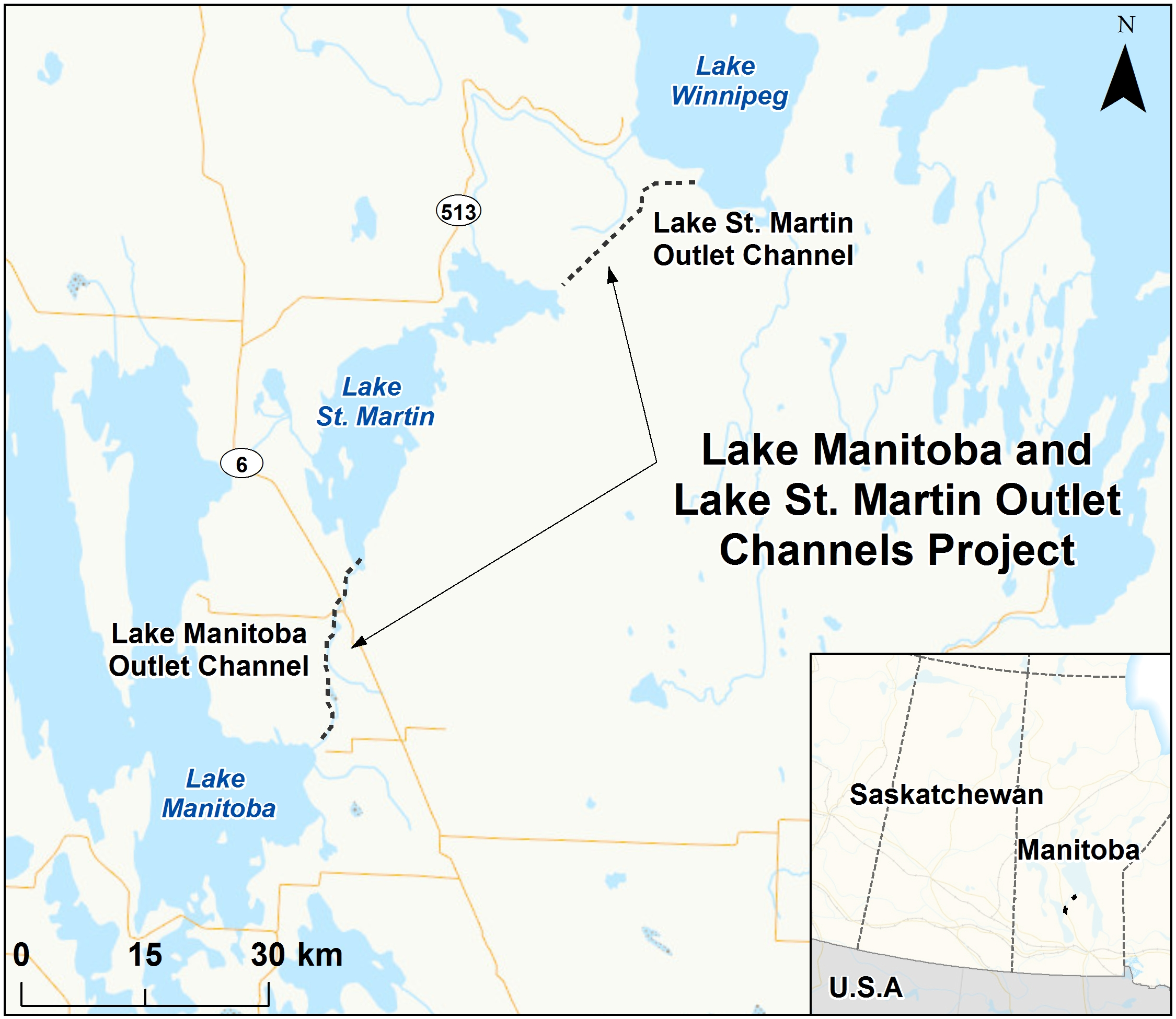 Lake Manitoba and Lake St. Martin Outlet Channels Project ...